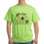 Bill of Rights Green T-Shirt