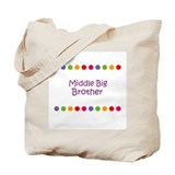 Middle Big Brother Tote Bag