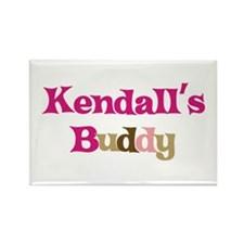 Kendall's Buddy Rectangle Magnet