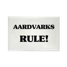 Aardvarks Rule Rectangle Magnet (10 pack)