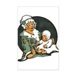 1910's Mother and Baby Mini Poster Print