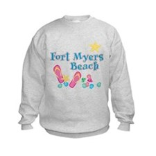Ft. Myers Beach Flip Flops - Sweatshirt
