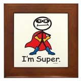Super Hero Framed Tile