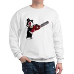 Teddy Bear with chainsaw Sweatshirt