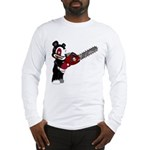 Teddy Bear with chainsaw Long Sleeve T-Shirt