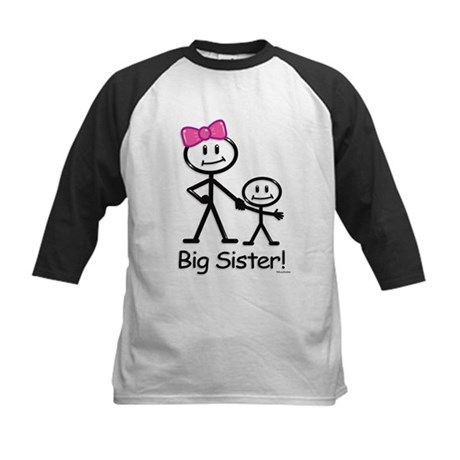 Big Sister Kids Baseball Jersey
