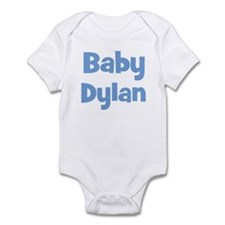 Baby Dylan (blue) Infant Bodysuit