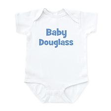 Baby Douglass (blue) Infant Bodysuit