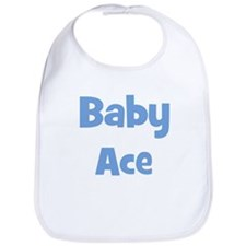 Baby Ace (blue) Bib