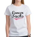 Cancer Sucks (Breast Cancer) Tee