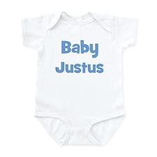 Baby Justus (blue) Infant Bodysuit