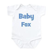 Baby Fox (blue) Infant Bodysuit
