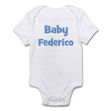 Baby Federico (blue) Infant Bodysuit