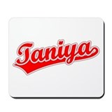 Retro Taniya (Red) Mousepad