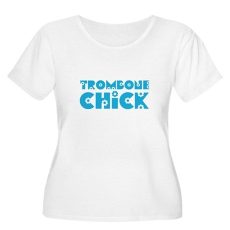 Trombone Chick Women's Plus Size Scoop Neck T-Shir
