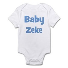 Baby Zeke (blue) Infant Bodysuit