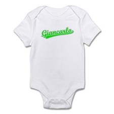 Retro Giancarlo (Green) Infant Bodysuit