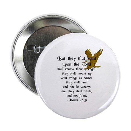 """But They That Wait ..."" 2.25"" Button (10 pack)"