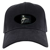 Brindle Christmas Jester Grey Baseball Hat