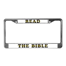 Read the Bible License Plate Frame