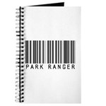 Park Ranger Barcode Journal