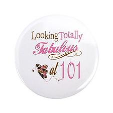 """Fabulous 101st 3.5"""" Button"""