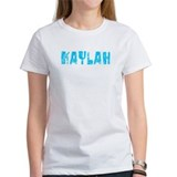 Kaylah Faded (Blue) Tee