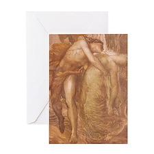 Orpheus & Eurydice Greeting Card