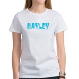 Kayley Faded (Blue) Tee