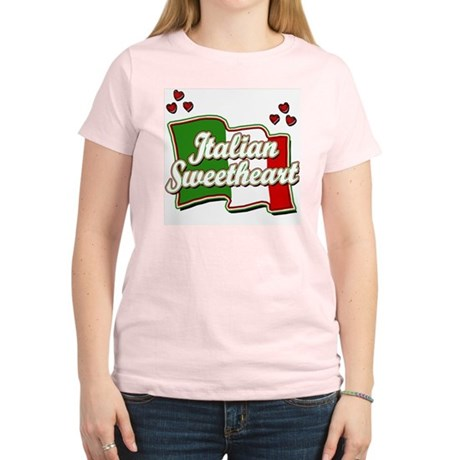 Italian Sweetheart/ Women's Pink T-Shirt