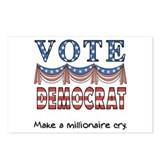 Vote Democrat Postcards (Package of 8)