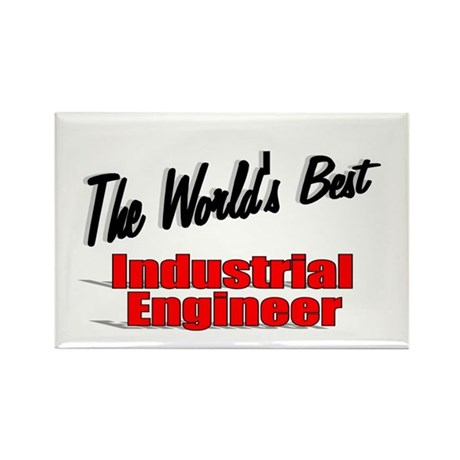 """The World's Best Industrial Engineer"" Rectangle M"