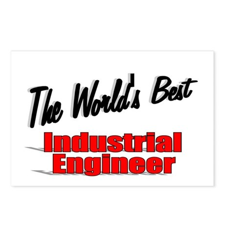 """The World's Best Industrial Engineer"" Postcards ("