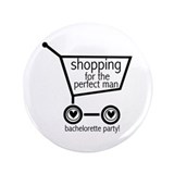 "Bachelorette Shopping 3.5"" Button (100 pack)"