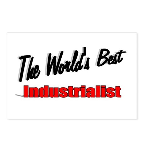 """The World's Best Industrialist"" Postcards (Packag"
