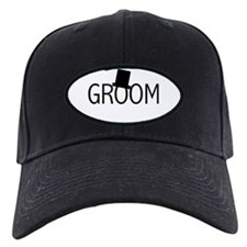 Top Hat Groom Baseball Hat
