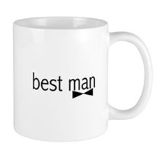 Bow Tie Best Man Mug