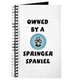 Owned by a Springer Spaniel Journal