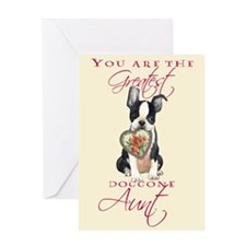 Boston Aunt Mother's Day Greeting Card