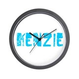 Kenzie Faded (Blue) Wall Clock