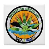 Operation Green Air Tile Coaster