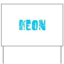 Keon Faded (Blue) Yard Sign