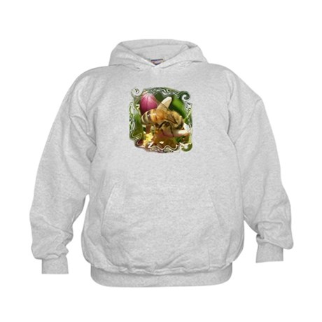 Honeybee Close Up Kids Hoodie