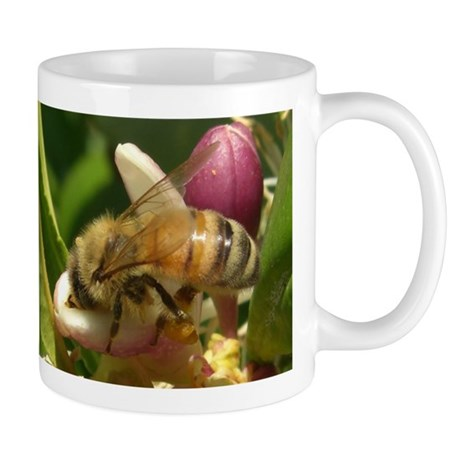 Honeybee Close Up Mug