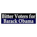 Bitter Voters for Obama bumper sticker