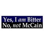 Bitter Anti-McCain Bumper Sticker