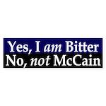 Bitter Anti-McCain Bumper Sticker