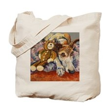 Funny Brown bears Tote Bag