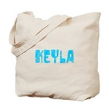 Keyla Faded (Blue) Tote Bag