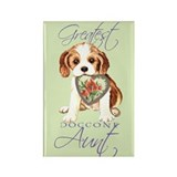 Cavalier Aunt Rectangle Magnet